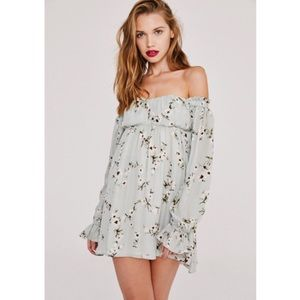 Stone Cold Fox Lovely Dress Tuberose Print Mini 1